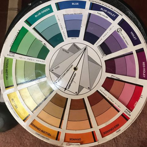 Color Wheel is helpful for learning color theory