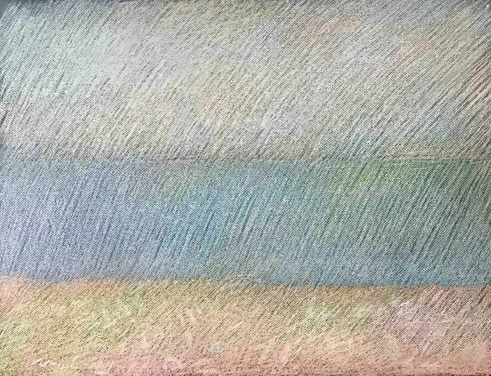 Newberry, Colorscape, 2020, pastel, 18x24 inches