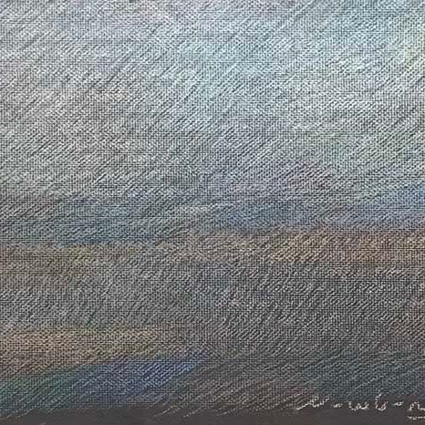 "Newberry, Tone Poem in Gray, 2020, pastel, 13x18"""