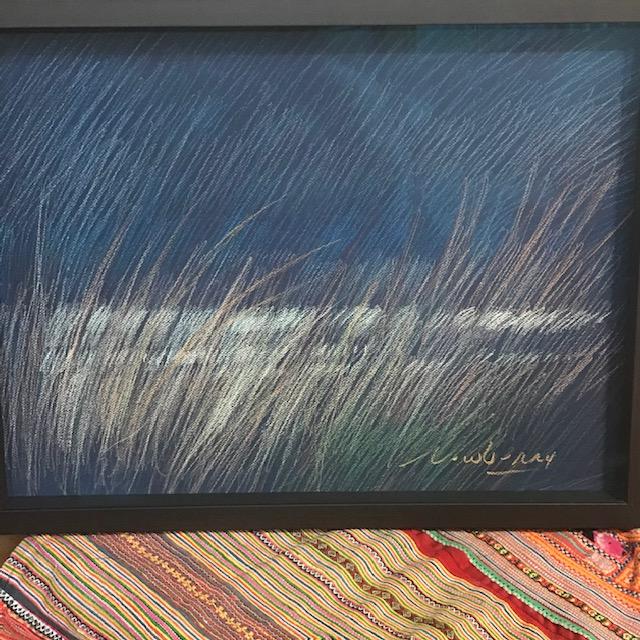 Newberry, Pacific Grass, pastel
