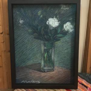 Newberry, Manet's Gift, pastel