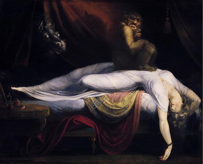Fuseli, The Nightmare, 1781