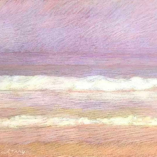 Newberry, Apollo Beach Violet Peach and Gold, pastel