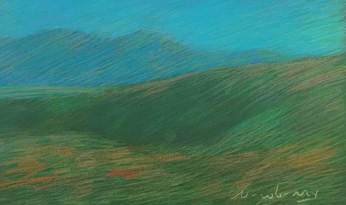 Newberry, High Desert: Green