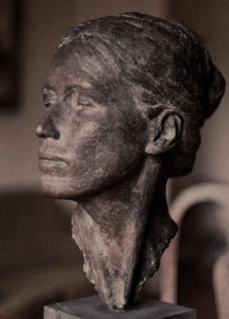 "Newberry, ""Lynia"", 1980-81, bronze, life-size"