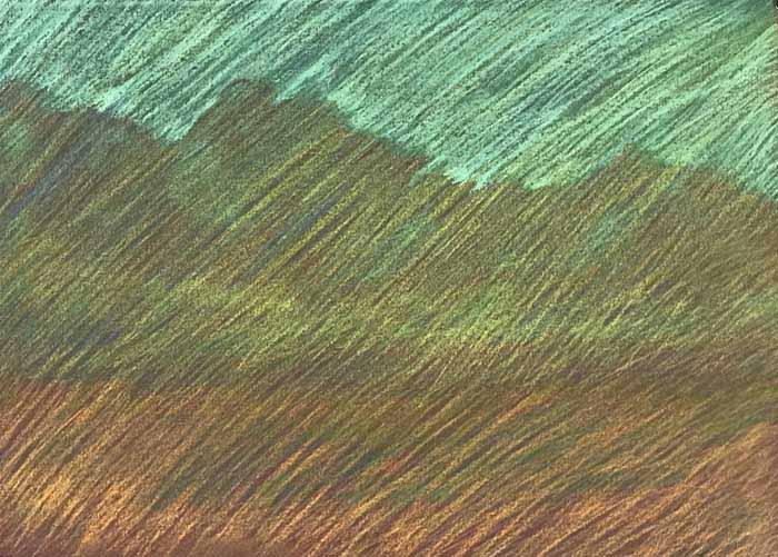 Luxman Nathan, Newberry Idyllwild Pastel Plein Air Workshop, 2021