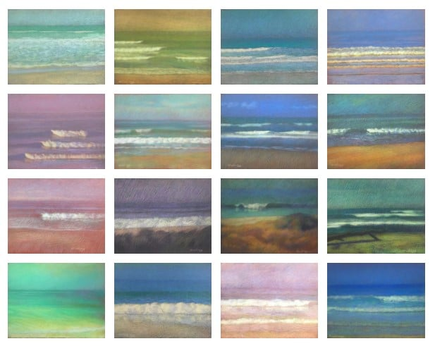 Wave Series by Michael Newberry