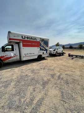Derek from Susanville U-Haul, was a life saver. They had everything I needed to quickly get back on my way.